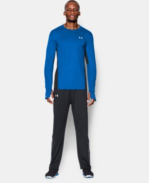 Men's UA Charged Wool Run Long Sleeve LIMITED TIME: FREE U.S. SHIPPING 1 Color $67.99
