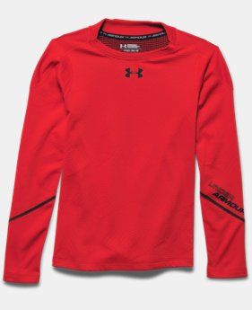 Boys' UA ColdGear® Infrared Grid Hybrid Mock