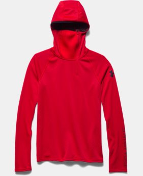 Boys' UA Combine® Training ColdGear® Infrared Fitted Hoodie
