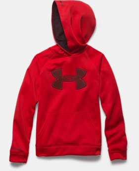 Boys' UA Storm Armour® Fleece Big Logo Hoodie
