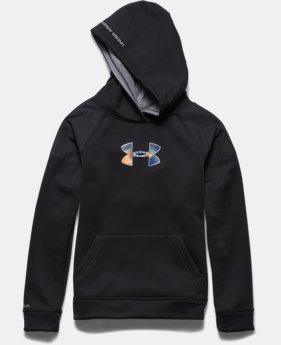 Boys' UA Storm Armour® Fleece Woven Hoodie