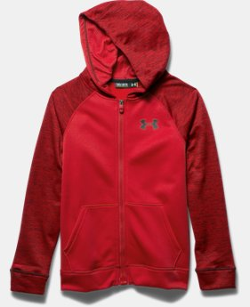 Boys' UA Storm Armour® Fleece MagZip Hoodie