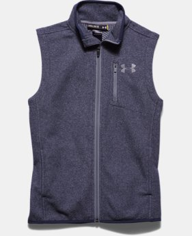Boys' UA ColdGear® Infrared Performance Fleece Vest