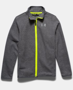 Boys' UA ColdGear® Infrared Performance Fleece Jacket