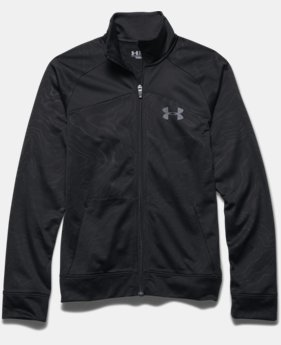 Boys' UA Brawler Warm-Up Jacket