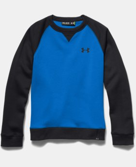 Boys' UA Rival Fleece Crew