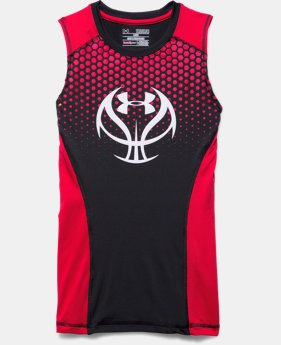 Boys' UA Undeniable Basketball Fitted Tank
