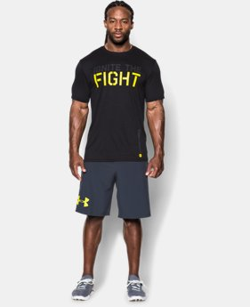 Men's UA Combine® Training Ignite The Fight T-Shirt