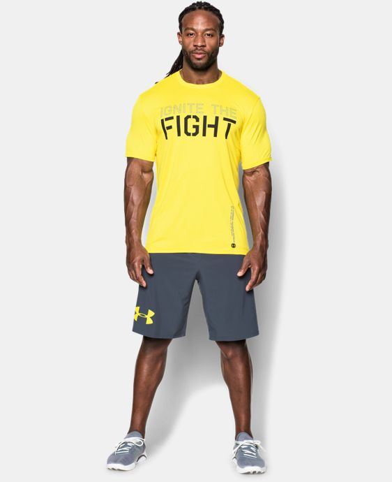 Men's UA Combine® Training Ignite The Fight T-Shirt  1 Color $20.99