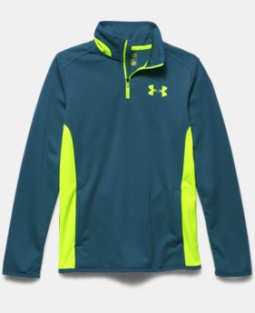 Boys' UA Axis Tilt ¼ Zip