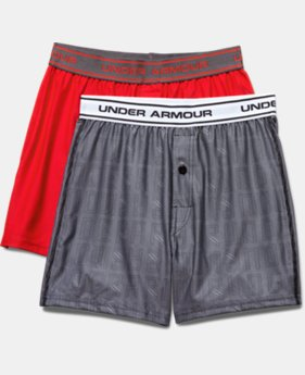Boys' UA Original Series Boxer Shorts 2-Pack