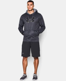Men's UA Storm Armour® Fleece Big Logo Printed Hoodie   $44.99