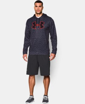 Men's UA Storm Armour® Fleece Big Logo Printed Hoodie  10 Colors $44.99