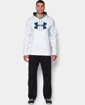 Men's UA Storm Armour® Fleece Big Logo Printed Hoodie LIMITED TIME: FREE U.S. SHIPPING 3 Colors $35.99 to $44.99