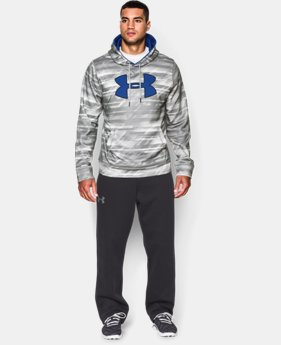 Men's UA Storm Armour® Fleece Big Logo Printed Hoodie  1 Color $39.74