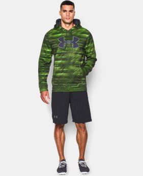 Men's UA Storm Armour® Fleece Big Logo Printed Hoodie  1 Color $59.99