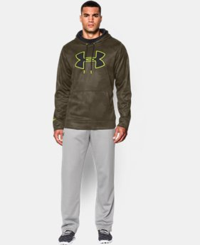 Men's UA Storm Armour® Fleece Big Logo Printed Hoodie  3 Colors $44.99