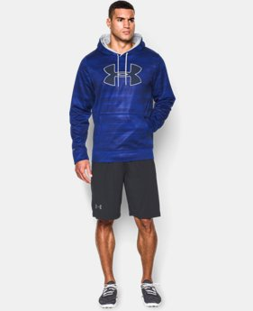 Men's UA Storm Armour® Fleece Big Logo Printed Hoodie  3 Colors $59.99