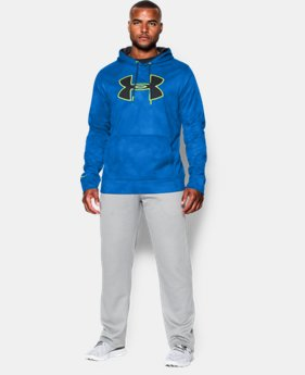 Men's UA Storm Armour® Fleece Big Logo Printed Hoodie   $59.99