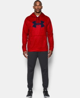 Men's UA Storm Armour® Fleece Big Logo Printed Hoodie LIMITED TIME: FREE U.S. SHIPPING  $44.99