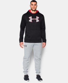 Men's UA Storm Armour® Fleece Twist Hoodie EXTENDED SIZES 3 Colors $44.99