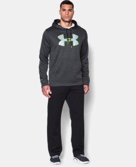Men's UA Storm Armour® Fleece Twist Hoodie EXTENDED SIZES  $44.99