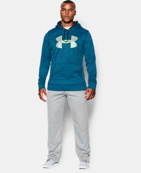 Men's UA Storm Armour® Fleece Twist Hoodie EXTENDED SIZES 4 Colors $44.99