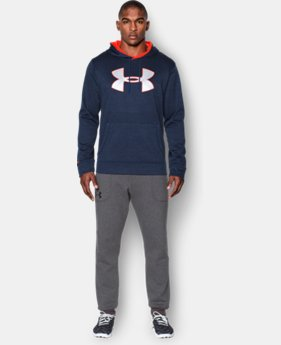 Men's UA Storm Armour® Fleece Twist Hoodie EXTENDED SIZES 1 Color $44.99