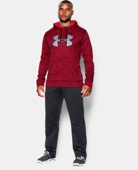 Men's UA Storm Armour® Fleece Twist Hoodie EXTENDED SIZES 1 Color $59.99