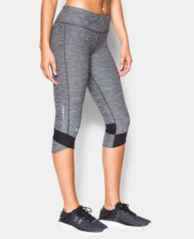 Women's UA Fly-By Textured Capri