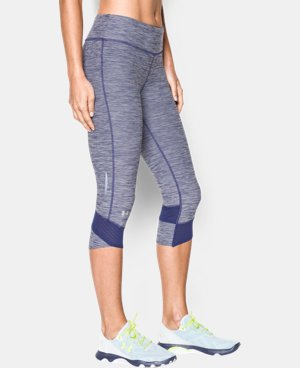 Women's UA Fly-By Textured Capri LIMITED TIME: FREE U.S. SHIPPING 1 Color $44.99