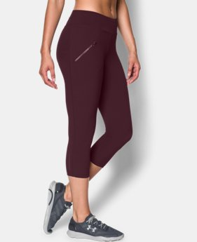 Women's UA Stunner Stretch Woven Capri  1 Color $35.99 to $44.99