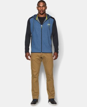 Men's UA ColdGear® Infrared Fleece Vest  1 Color $39.74