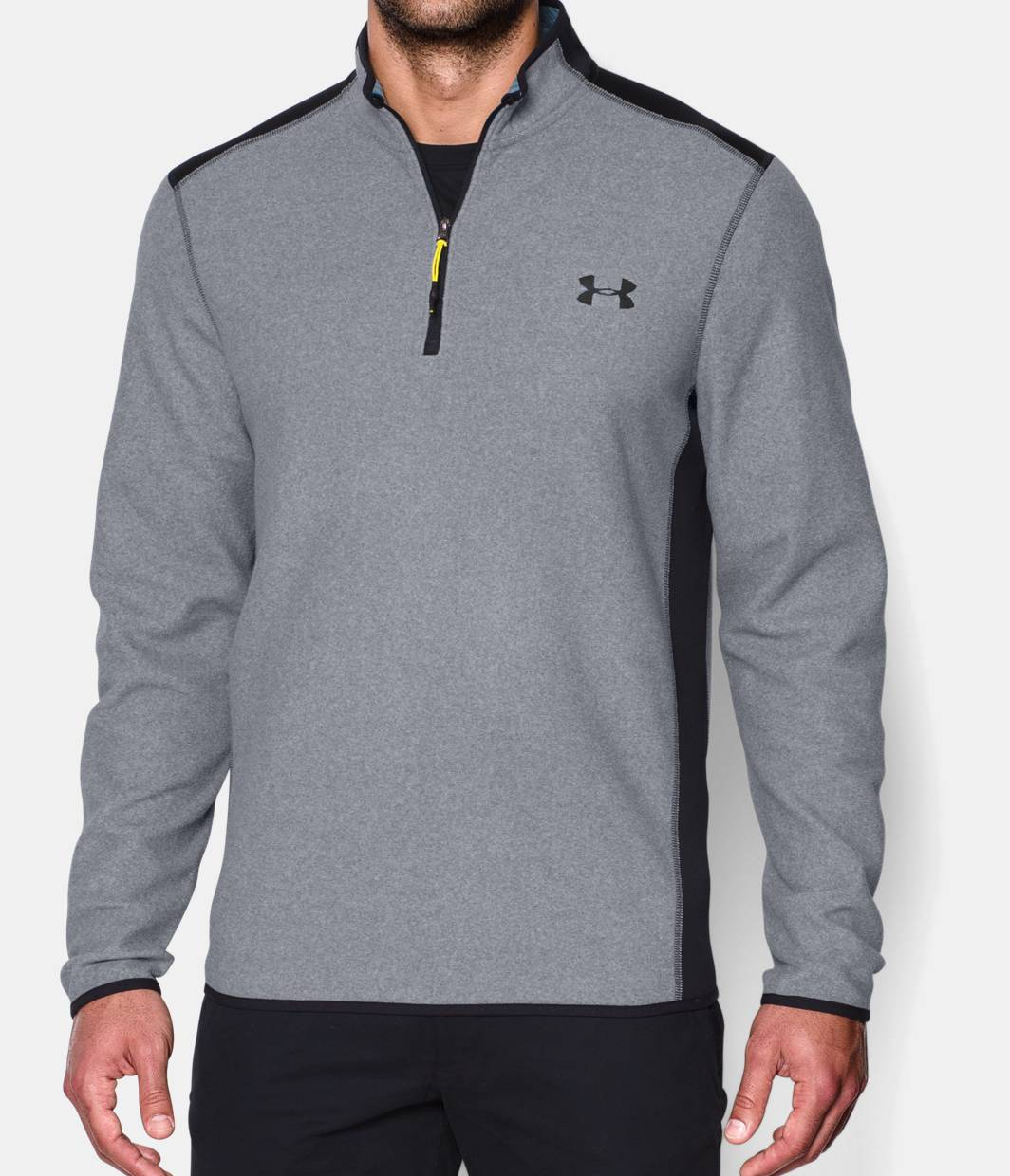 Men 39 S Ua Coldgear Infrared Fleece Zip Under Armour Us