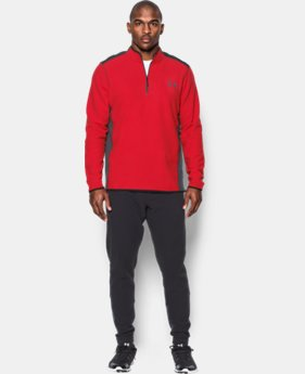 New Arrival Men's UA ColdGear® Infrared Fleece ¼ Zip   $69.99