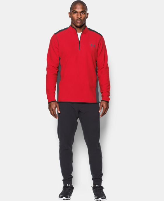 Men's UA ColdGear® Infrared Fleece ¼ Zip  1 Color $59.99