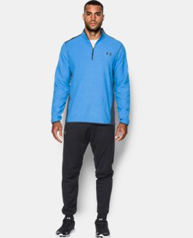 New Arrival  Men's UA ColdGear® Infrared Performance Fleece ¼ Zip LIMITED TIME: FREE SHIPPING 1 Color $79.99
