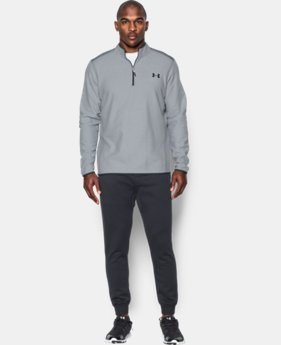 New Arrival  Men's UA ColdGear® Infrared Performance Fleece ¼ Zip  2 Colors $79.99