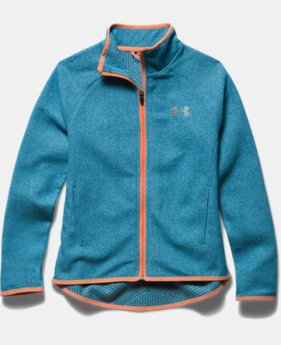 Girls' UA ColdGear® Infrared Fleece Full Zip