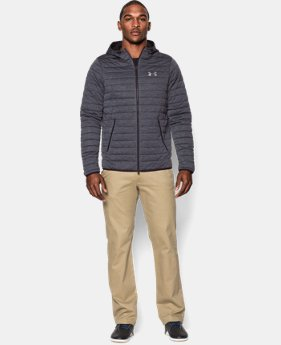 Men's UA Quilted Zip Hoodie  1 Color $83.99 to $104.99