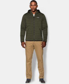 Men's UA Quilted Zip Hoodie  1 Color $78.74
