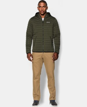 Men's UA Quilted Zip Hoodie LIMITED TIME: FREE U.S. SHIPPING 1 Color $104.99