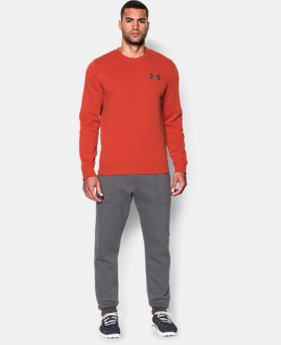 Men's UA Rival Fleece Crew  1 Color $29.99 to $37.99