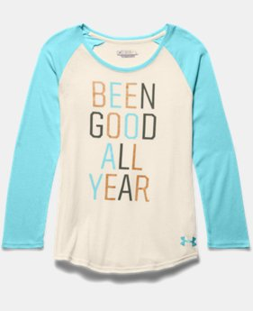 Girls' UA Been Good All Year Long Sleeve