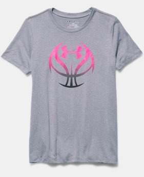 Girls' UA Basketball Graphic T-Shirt