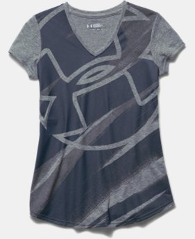 Girls' UA Imprint V-Neck