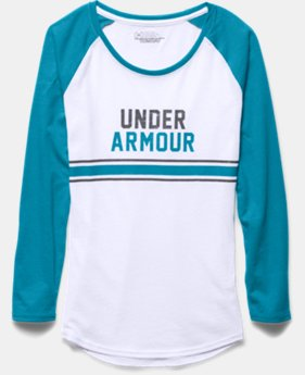 Girls' UA Collegiate Long Sleeve