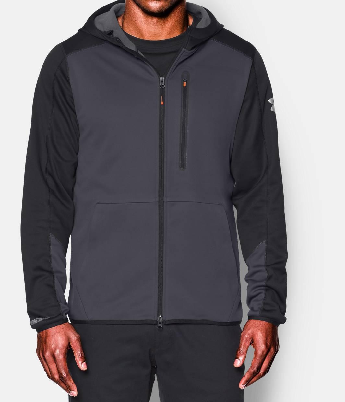 Men's UA Storm WINDSTOPPER® Full Zip Hoodie | Under Armour US