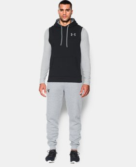 Men's UA Rival Fleece Sleeveless Hoodie  1 Color $59.99
