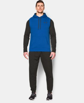 Men's UA Rival Fleece Sleeveless Hoodie  1 Color $44.99
